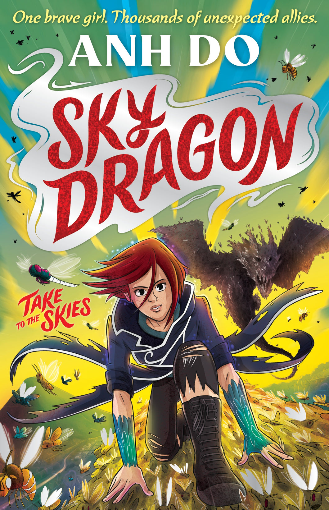 Skydragon 1, Skydragon Takes to the Skies by Anh Do
