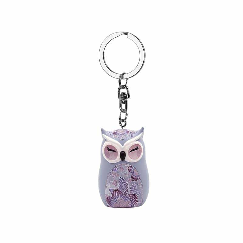 Wise Wings Knowing Yourself is the Beginning of All Wisdom Keyring