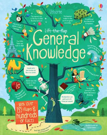 Usborne Lift-The-Flap General Knowledge