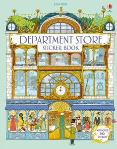 Usborne Department Store Sticker Book