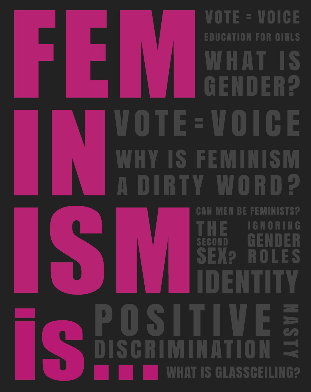 Feminism is... by Gemma Cairney