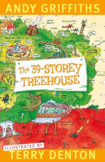 The 39-Storey Treehouse by Andy Griffiths and Terry Denton