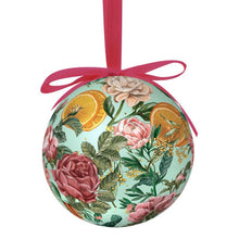 Load image into Gallery viewer, La La Land Extravagant Christmas Bauble Floral Explosion