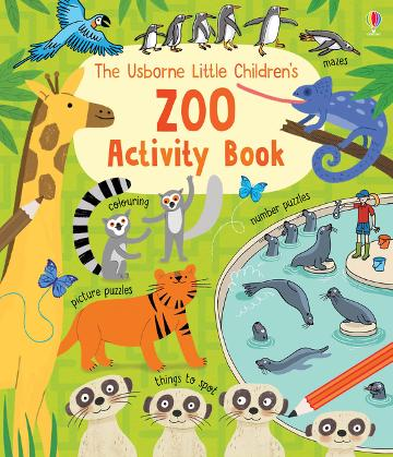 Usborne Little Children's Zoo Activity Book