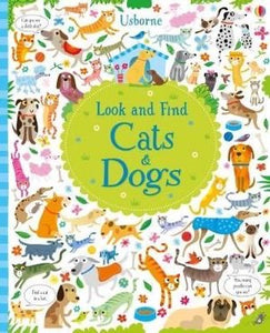 Usborne Look and Find Cats and Dogs