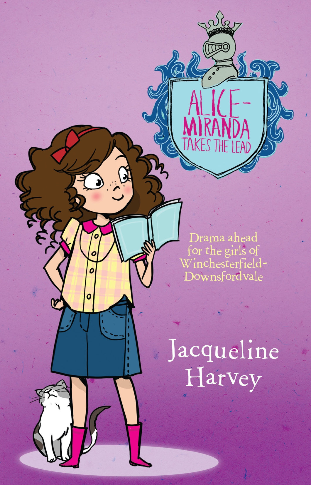 Alice-Miranda Takes the Lead (Book #3) by Jacqueline Harvey