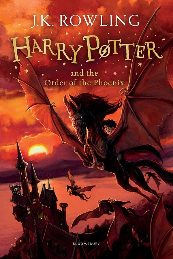 Harry Potter and the Order of the Phoenix (Book #5) by J.K. Rowling