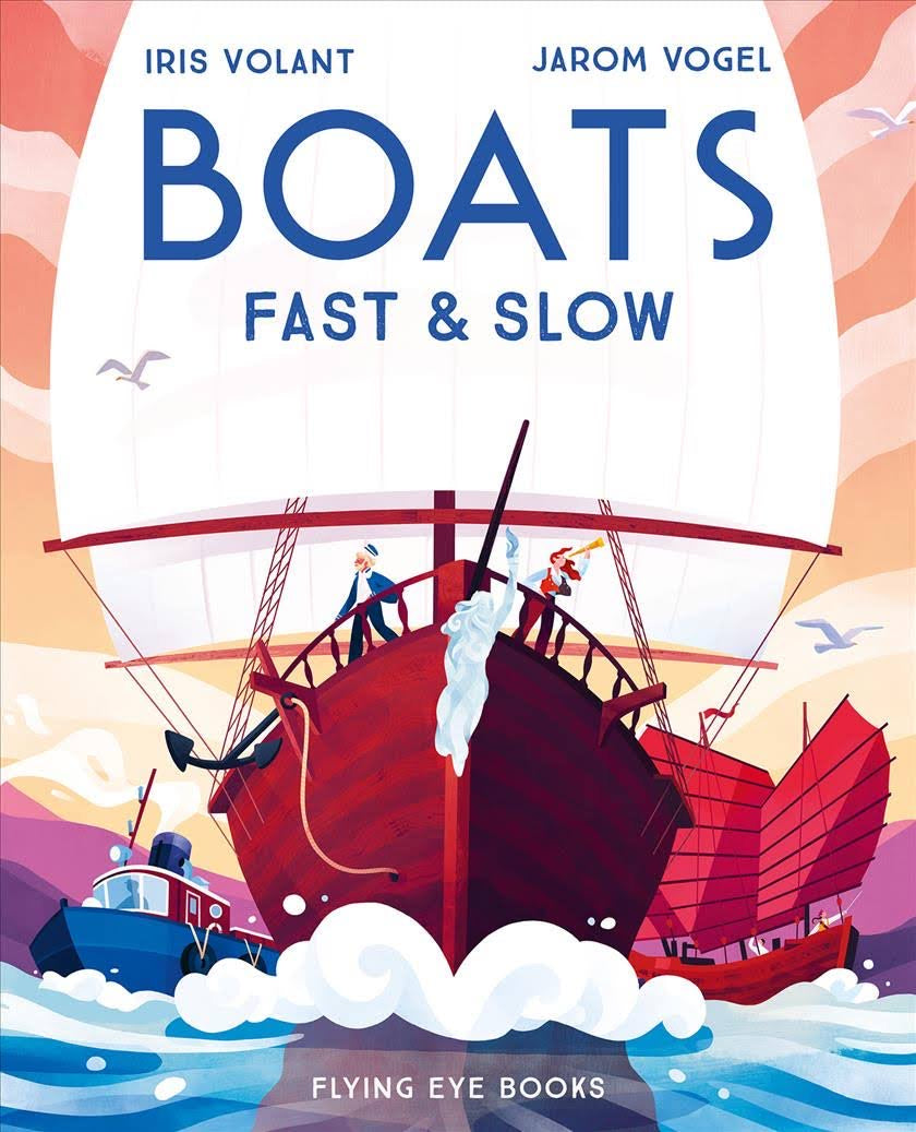 Boats Fast and Slow by Iris Volant