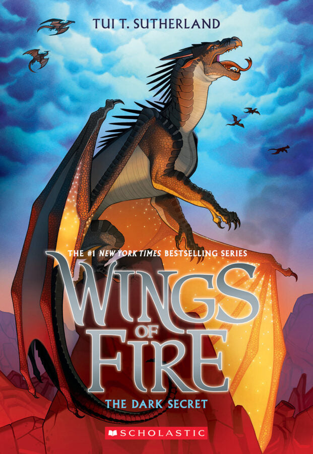 Wings of Fire 4: The Dark Secret by Tui T. Sutherland