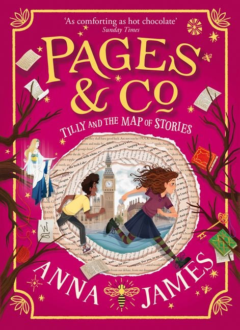 Pages & Co 3: Tilly and the Map of Stories by Anna James