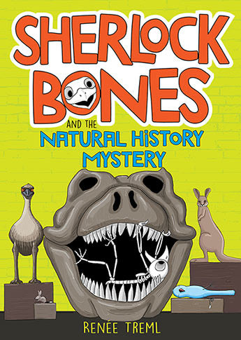 Sherlock Bones and the Natural History Mystery by Renée Treml