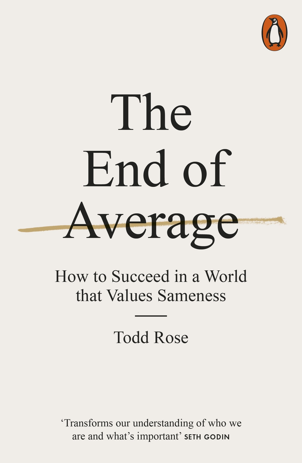 The End of Average by Todd Rose