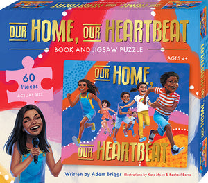 Our Home Our Heartbeat Book and Jigsaw Puzzle