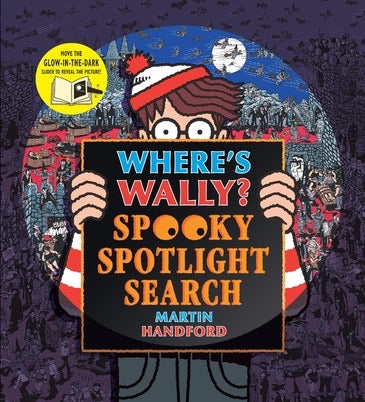 Where's Wally? Spooky Spotlight Search by Martin Handford