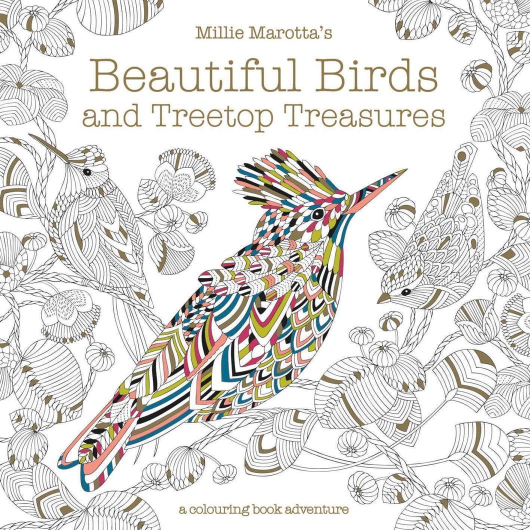 Beautiful Birds and Treetop Treasures by Millie Marotta's