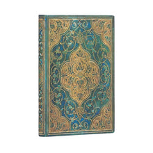 Load image into Gallery viewer, Paperblanks Mini Address Book Turquoise Chronicles
