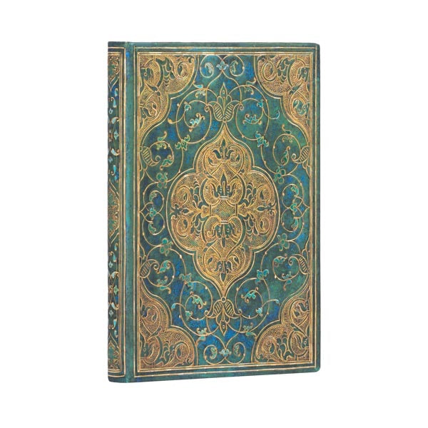 Paperblanks Mini Address Book Turquoise Chronicles