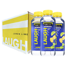 Load image into Gallery viewer, Laugh, Lemon-Lime hellowater. <br> Pack of 12