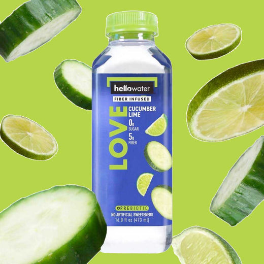 Love, Cucumber-lime hellowater. <br> Pack of 12