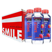 Load image into Gallery viewer, Smile, Mixed Berry hellowater. <br> Pack of 12