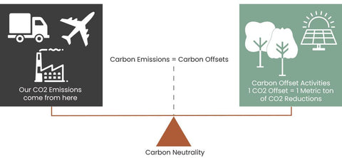 the good comfy carbon offsetting goal