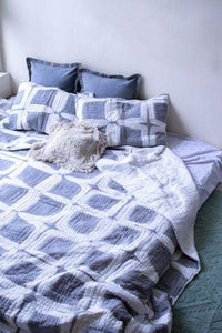 Bonneville Tie-Dye Kantha Quilting Bed Set The Good Comfy | Home & Lifestyle