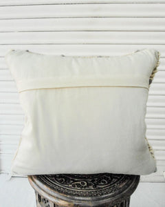 Oda Handwoven Recycled Cotton and Recycled Acrylic Cushion Cover