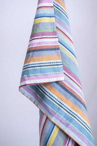 Taza Recycled Cotton Multicolor Blanket The Good Comfy | Home & Lifestyle