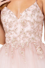 Diggz Prom BC DA284 - Sweetheart A-Line Tulle Ballgown with Beaded Embroidered Bodice - Diggz Prom