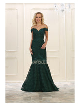 Mayqueen Size Chart E MQ 7561 Off The Shoulder Sweetheart Lace Embellished Fit & Flare - Diggz Prom