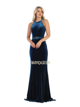Mayqueen Size Chart E MQ 7652 - Fitted Jewel Sheath Evening Dress - Diggz Prom