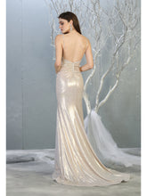 MQ 7838 - A-line prom gown with sweetheart neckline and wrapped waist. - Diggz Prom