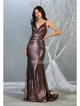 Mayqueen Size Chart E MQ 7838 - A-line prom gown with sweetheart neckline and wrapped waist. - Diggz Prom