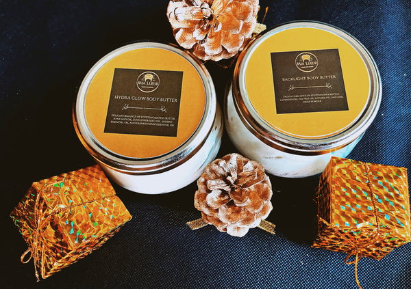 Hydra Glow Body Butter and Backlight Body Butter Bundle