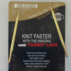 "16"" Addi Turbo Lace Circular Needle"