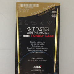 "32"" Addi Turbo Lace Circular Needle"