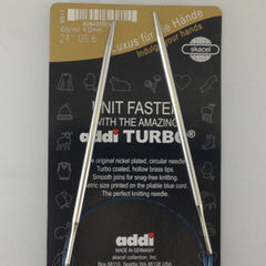 "24"" Addi Turbo Circular Needle"