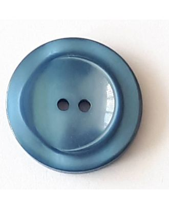 18mm Blue Button
