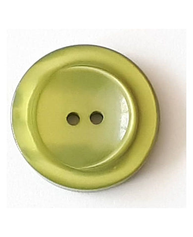 18mm Lime Button