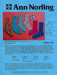 12A-Adult Socks II: Play on Ribs