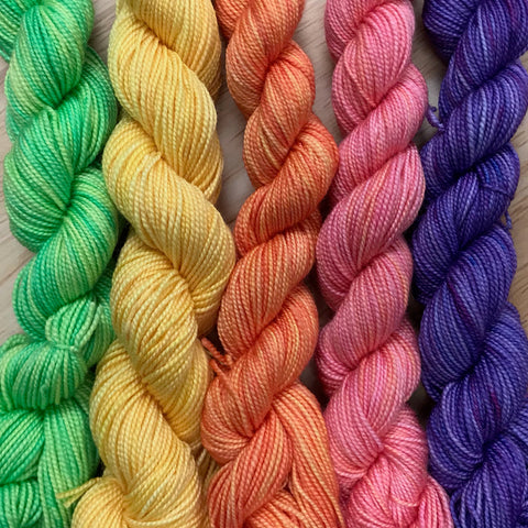Whimsical Colors Silk Whimsy Gradients Sets