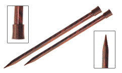 "10"" Cubics Straight Knitting Needles, set of 2"