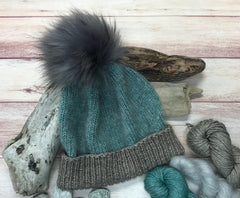 Whimsical Colors Fuzzy Hat Kit
