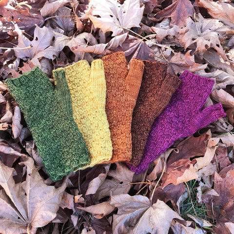 Whimsical Colors Cattle Point Mitts Kit
