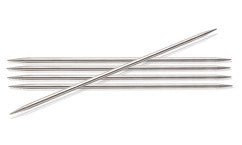 "6"" Knitter's Pride Nova Metal Double Pointed Needles, set of 5"