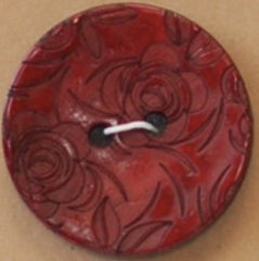 Red Coconut Button