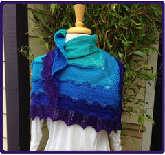 Tidal Twilight Shawl