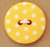 Yellow Polka Dot Button