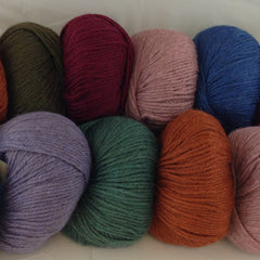 Feltable Wool Yarns