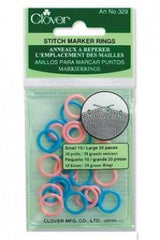 Clover Stitch Ring Markers 329